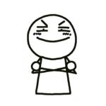 「腕組む棒人間」の描き方
