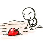 土に埋葬されたリンゴの種は・・・