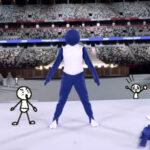 東京オリンピック開会式で「リアル棒人間」!!言葉を越えたアナログパフォーマンスで盛り上げる!